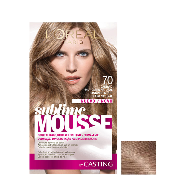 loreal sublime mousse 700