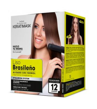 Be natural - Kit Lisciante Brasiliano senza formaleide