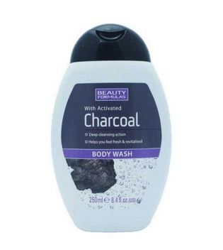 Beauty Formulas -  Body Wash with activated Charcoal