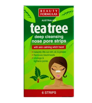 Beauty Formulas - Cleansing Nose Pore Strips Tea Tree
