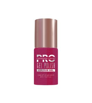 Constance Carroll Pro - Smalto per unghie Hybrid Colour Gel - 072: Red with a Pink Mist