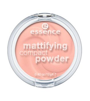 essence - matifying compact powder - 10: light beige