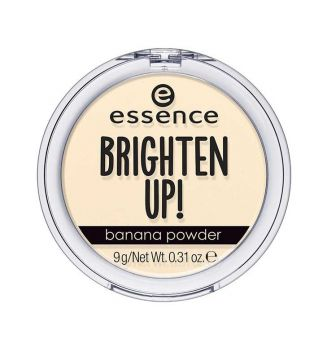 essence - Cipria compatta opacizzante brighten up! - 10: Banana