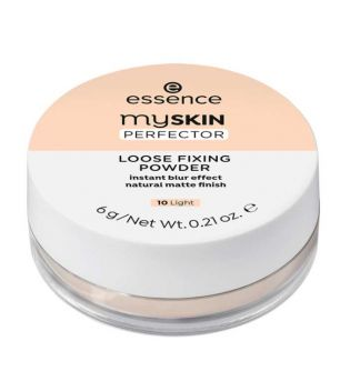 essence - Loose Setting Powder My Skin Perfector - 10: Light