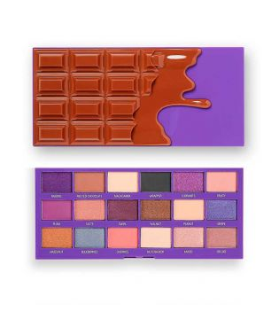 I Heart Revolution - Palette di ombretti Chocolate - Fruit and Nut