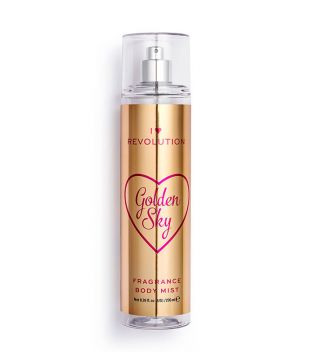 I Heart Revolution - Fragance Body Spray - Golden Sky