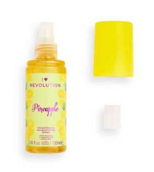 I Heart Revolution - Spray riparatore illuminante per trucco - Pineapple