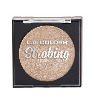 L.A Colors - Strobing Highlighter Powder - Champagne