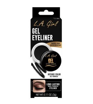 L.A. Girl - Eyeliner in Gel - GEL731: Jet Black