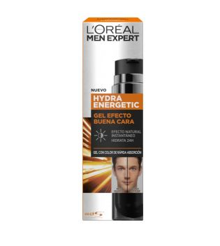 Loreal Paris - Gel levigante con colore Men Expert Hydra Energetic