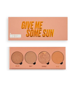 Makeup Obsession - Palette bronzer Give Me Some Sun