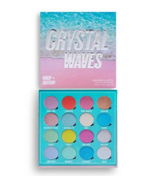 Makeup Obsession - Palette di ombretti occhi Crystal Waves