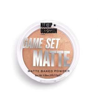 Makeup Obsession - Cipria compatta Game Set Matte - Kalahari