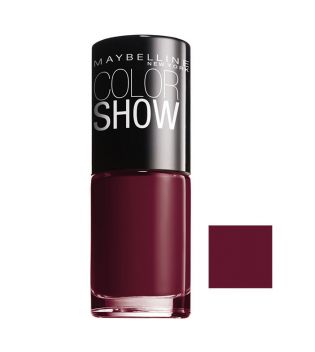 Maybelline - Nail Polish Color Show - 352: Downtown Red