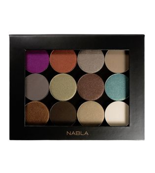 Nabla - Liberty Twelve Customizable Palette - Black