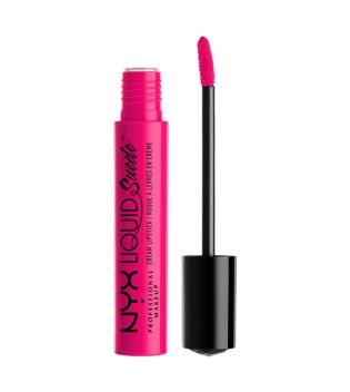 Nyx Professional Makeup - Suede Cream Lipstick - LSCL08: Pink Lust