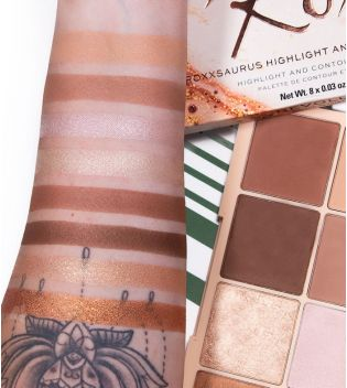 Revolution - Highlight & Contour Palette Roxi