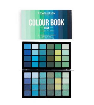 Revolution - Palette di Ombretti occhi Colour Book - CB05