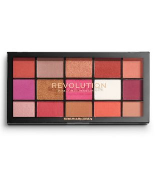 Revolution - Palette di Ombretti occhi Reloaded - Red Alert