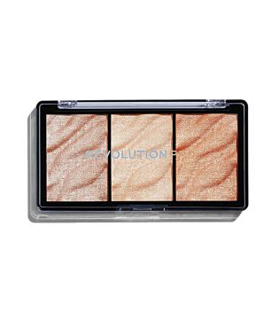 Revolution Pro - Highlighter Palette Supreme - Metal