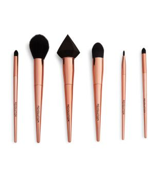 Revolution - Reloaded Rose Gold Brush Set