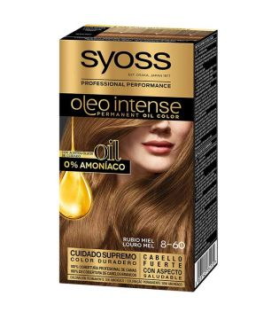 Syoss - Colorante Oleo Intense 8-60 Biondo Miele