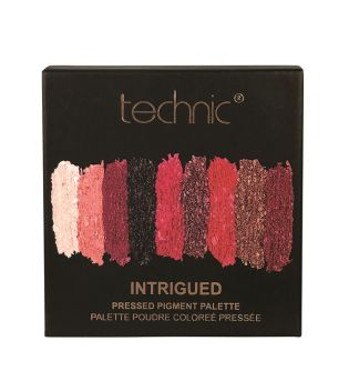 Technic Cosmetics - Palette di Ombretti occhi Pressed Pigments - Intrigued