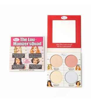 The Balm - The Lou Manizer'sQuad Highlighters Palette