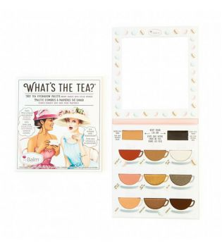 The Balm - Palette di Ombretti occhi e primer What's The Tea? - Hot Tea
