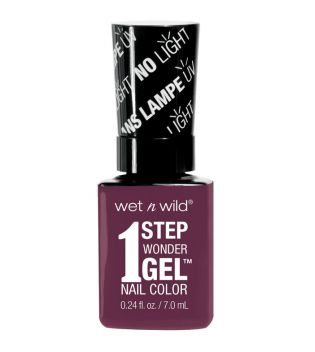 Wet N Wild - Smalto per unghie 1 Step Wonder Gel - E7341: Under My Plum
